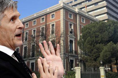 """Desalojan el Ministerio del Interior por una falsa alarma de """"paquete bomba"""""""