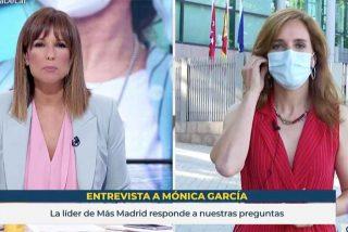 Así tapa TVE el asunto Errejón: Mónica López 'entrevista' a su compañera Mónica García y ni le saca el tema