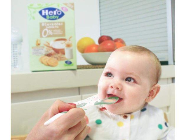 papillas para niños hero baby
