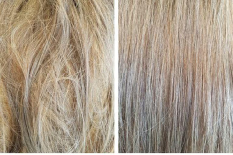 Cómo evitar la humedad en el pelo planchado