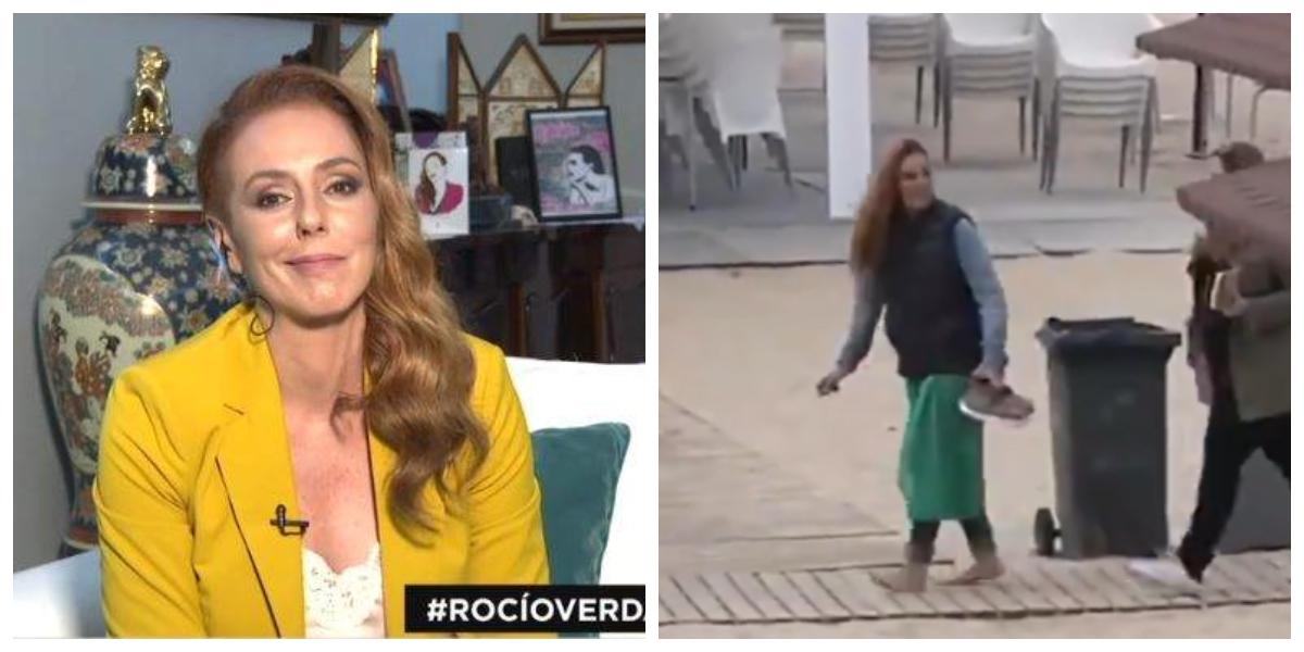 """Rocío Carrasco hace negocio en Chipiona y ante la tumba de su madre: """"Ha sufrido un ataque de ansiedad"""""""
