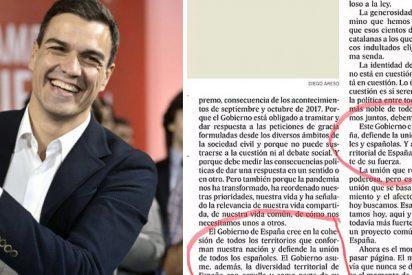 Política y periodismo afín: Sánchez se plagia a sí mismo y El País ya ni le corrige