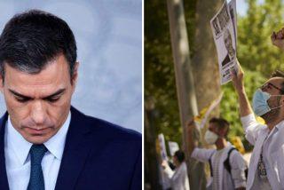 """Los sanitarios se organizan para boicotear la vacunación televisada de Sánchez con un """"mega abucheo"""""""