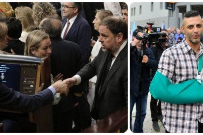 La 'renconciliación' de Sánchez: los golpistas del 1-O, en libertad; los policías, apestados