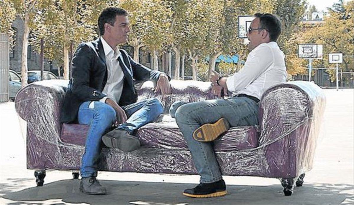 La hemeroteca no indulta a Sánchez: así aseguró a Risto que él no acortaría las penas a los delincuentes