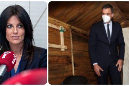 """Cristina Seguí a Pedro Sánchez tras hacerse la foto en el zulo de Ortega Lara: """"Eres un malnacido"""""""