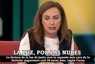 Mano de palos a Angélica Rubio (laSextaNoche) por su alegato contra bajar el IVA de la luz