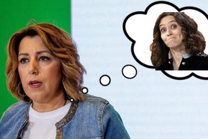 El épico troleo del PP Madrid a Susana Díaz por 'plagiar' el discurso de Isabel Díaz Ayuso