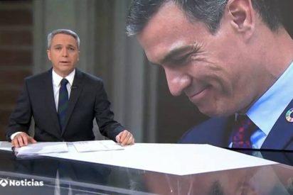 Vicente Vallés sentencia a Pedro Sánchez y a su 'nueva tele' con un dato terrorífico para TVE