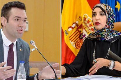 """Épico 'zasca' de VOX a la concejal de Ceuta por atacar a Abascal: """"¿Y si te deportamos a Marruecos?"""""""