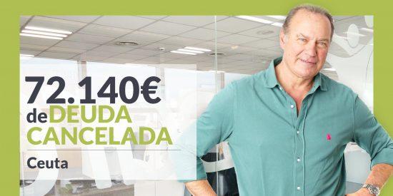Repara tu Deuda abogados cancela 72.140€ en Ceuta con la Ley de Segunda Oportunidad