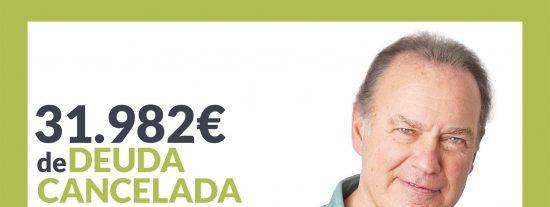 Repara tu Deuda Abogados cancela 31.982€ en Madrid con la Ley de la Segunda Oportunidad