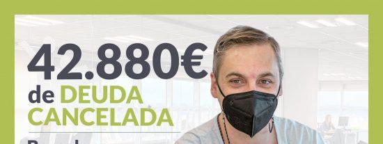 Repara tu Deuda Abogados cancela 42.880€ en Barcelona (Catalunya) con la Ley de Segunda Oportunidad