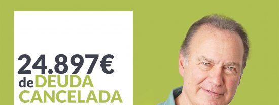 Repara tu Deuda Abogados cancela 24.897€ en Santander (Cantabria) con la Ley de Segunda Oportunidad