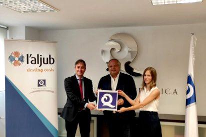 L'Aljub se convierte en el primer centro comercial en conseguir la Q de Calidad Turística