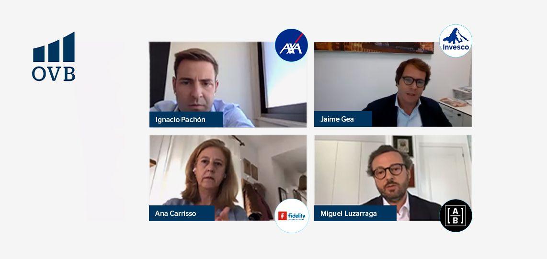 Tres de las mayores gestoras de fondos del mundo exponen en OVB Allfinanz sus perspectivas para el mercado