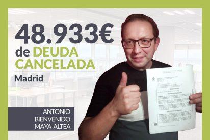Repara tu Deuda Abogados cancela 48.933€ en Madrid con la Ley de Segunda Oportunidad