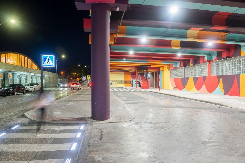 Schréder contribuye a la renovación de la iluminación del aparcamiento del Paseo de Roma en Fuenlabrada