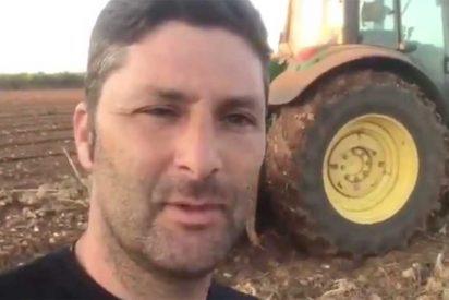 Un currante del campo desmonta a TVE y al Gobierno por sus maniobras para asfixiar a los agricultores