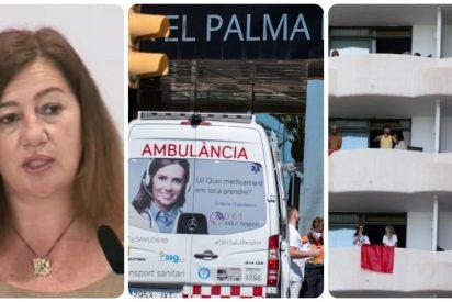 """El cabreo de Armengol tras tumbar la jueza el 'secuestro' de los estudiantes: """"Atenta contra la salud"""""""