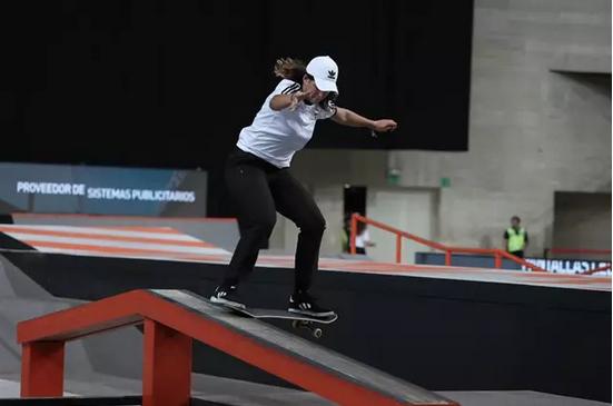 La 'skater' Andrea Benítez acudirá a Tokio gracias al positivo por coronavirus de la neerlandesa Candy Jacobs