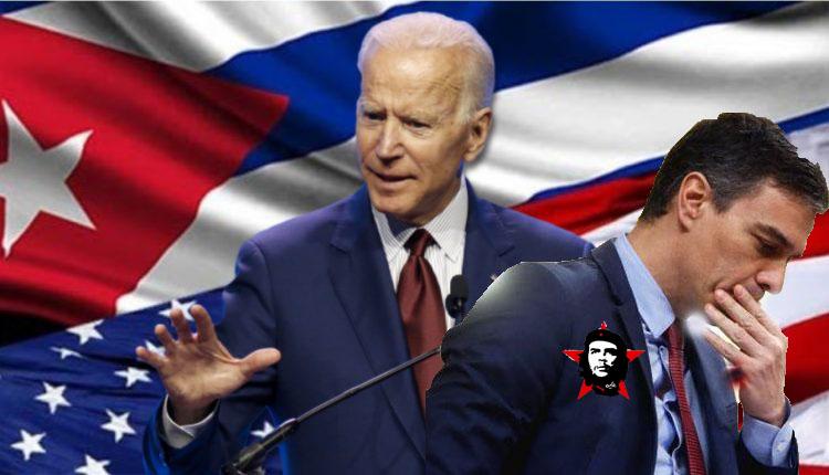 Biden 'castiga' a Sánchez por su paseíto por EEUU: España, excluida de la coalición mundial contra la dictadura de Cuba