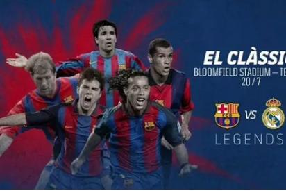 El FC Barcelona y Real Madrid jugarán un Clásico de 'Leyendas' en Tel Aviv