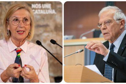 """Rosa Díez: """"¡Qué vergüenza da que Josep Borrell sea incapaz de defender los Derechos Humanos de los cubanos!"""""""