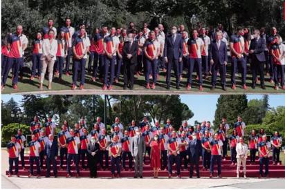 Felipe VI despide a los atletas que competirán en los JJOO de Tokio