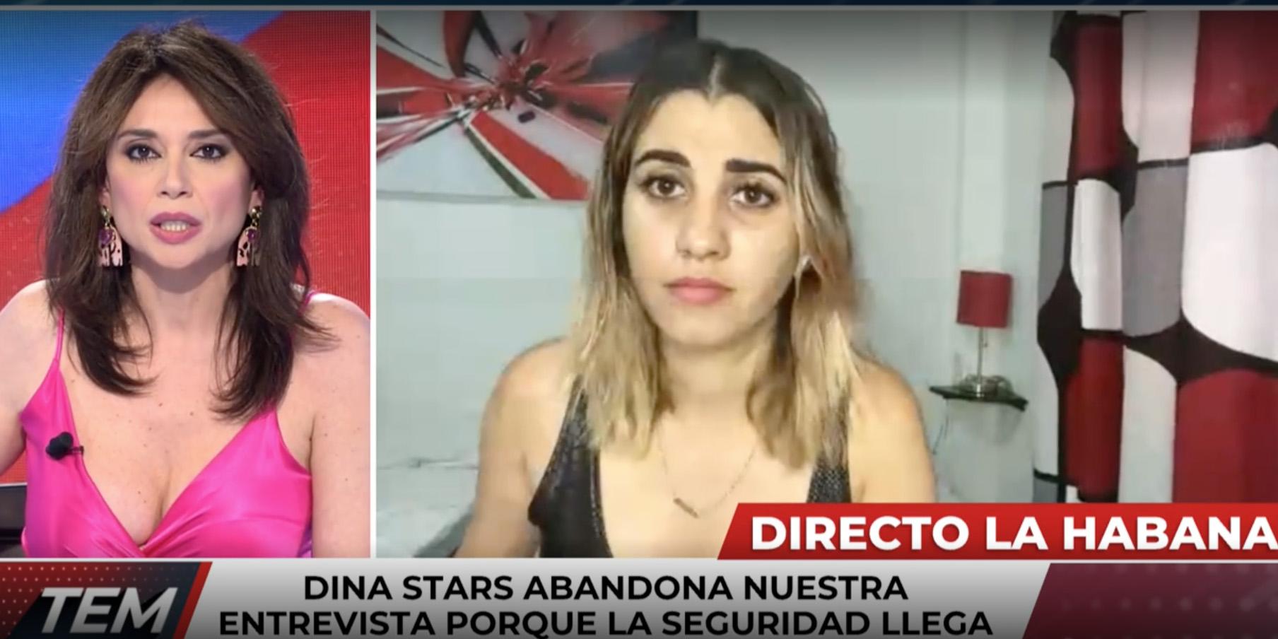 La Policía de Cuba 'secuestra' a la youtuber Dina Stars en directo y en mitad de una entrevista con 'Todo es mentira'