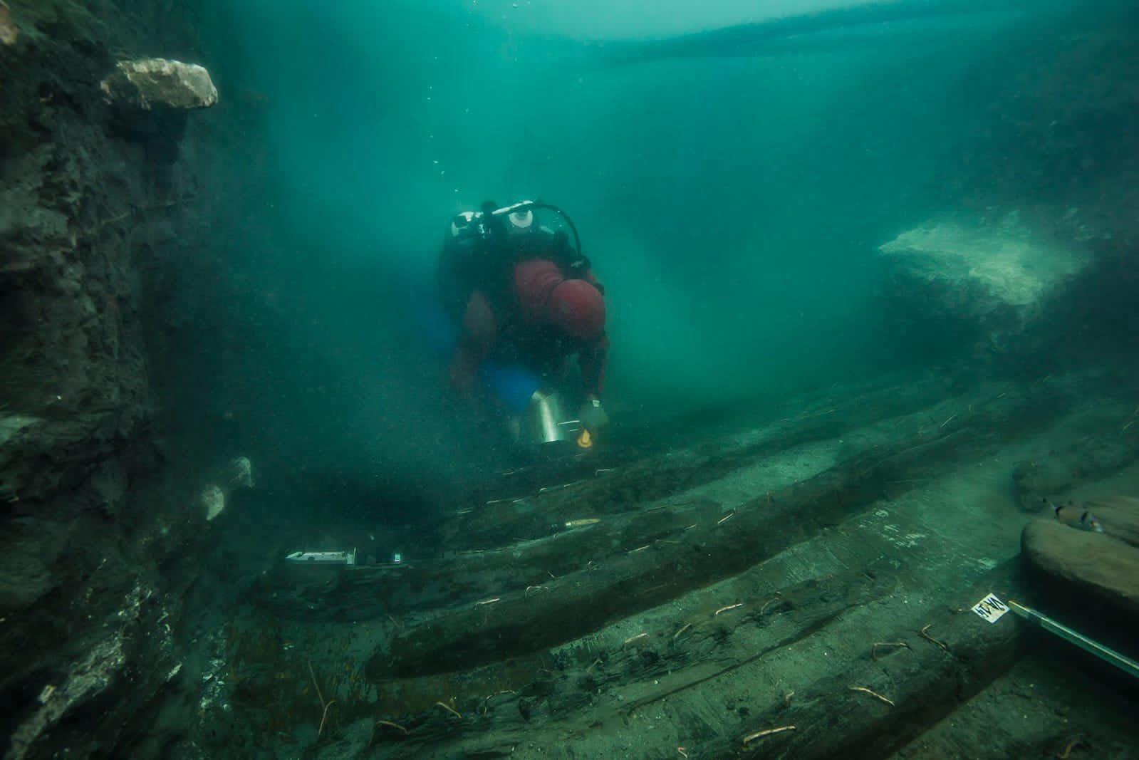 Encuentran un buque de guerra de 2.200 años hundido en las ruinas de Heraklion