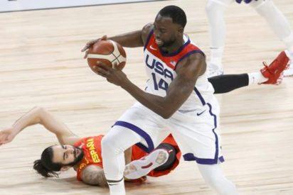 EEUU arrasa con España ante de los JJOO de Tokio