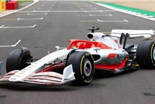 El poderoso monoplaza presentado por F1 para igualar la competición en 2022