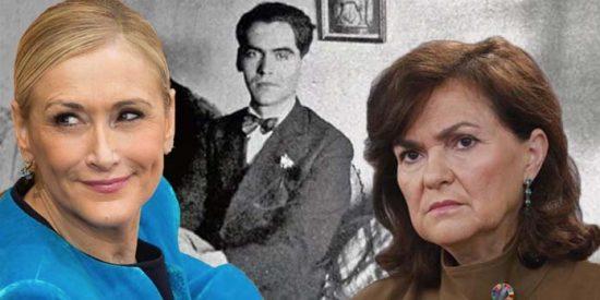 Cristina Cifuentes se cachondea del disparatado tuit de Carmen Calvo sobre una obra de Lorca