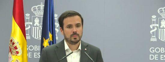 """Las redes cortocircuitan a Garzón por divagar así ante el subidón eléctrico: """"Hay que hacer cosas"""""""