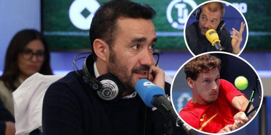 El 'troleo' de Juanma Castaño aprovechando el triunfo de Carreño en tenis