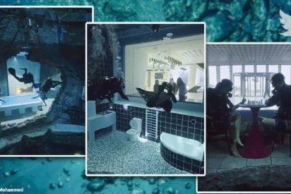 Dubái: inauguran la piscina más profunda del mundo e incluye una 'ciudad submarina'