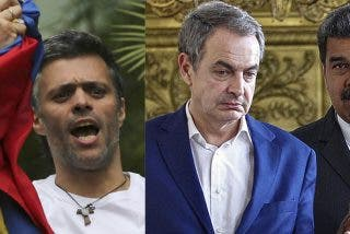 """Leopoldo López enfrenta a Zapatero, """"un apologista de Maduro, un criminal"""""""