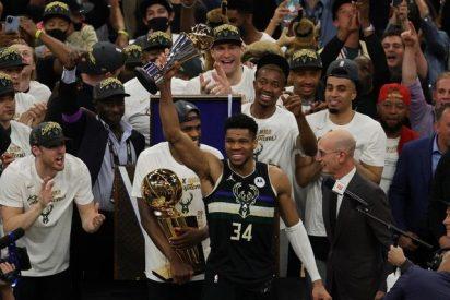 Los Milwaukee Bucks, campeones de la NBA tras 50 años de sequía
