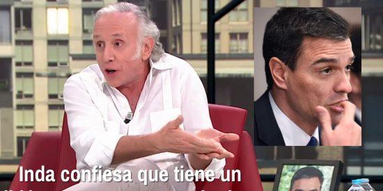 Pitorreo en LaSexta: Inda confiesa que tiene un líder muy guapo y es Sánchez