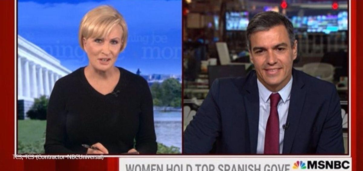 """Una periodista de EEUU deja a cuadros a Pedro Sánchez: """"¿Por qué Joe Biden no le recibirá en la Casa Blanca?"""""""