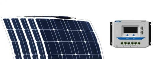 Así son los nuevos paneles solares flexibles, ultraligeros y potentes que financia la UE