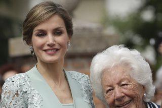 Fallece Menchu Álvarez del Valle, la abuela de la reina Letizia