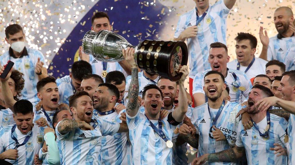 Copa América: Argentina se impone 1-0 a Brasil y vuelve a ganar 28 años después