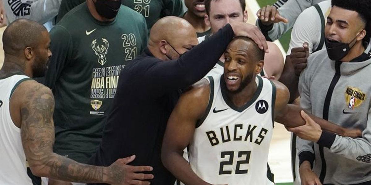 NBA: Los Milwaukee Bucks empatan las Finales pese a la exhibición de 42 puntos de Devin Booker