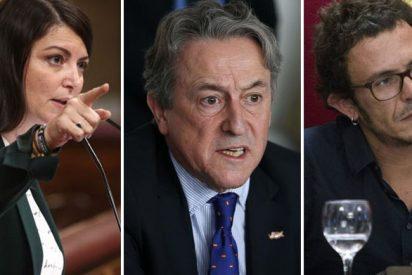 Olona y Tertsch vapulean a Kichi por justificar y alentar la violencia contra VOX en Cádiz