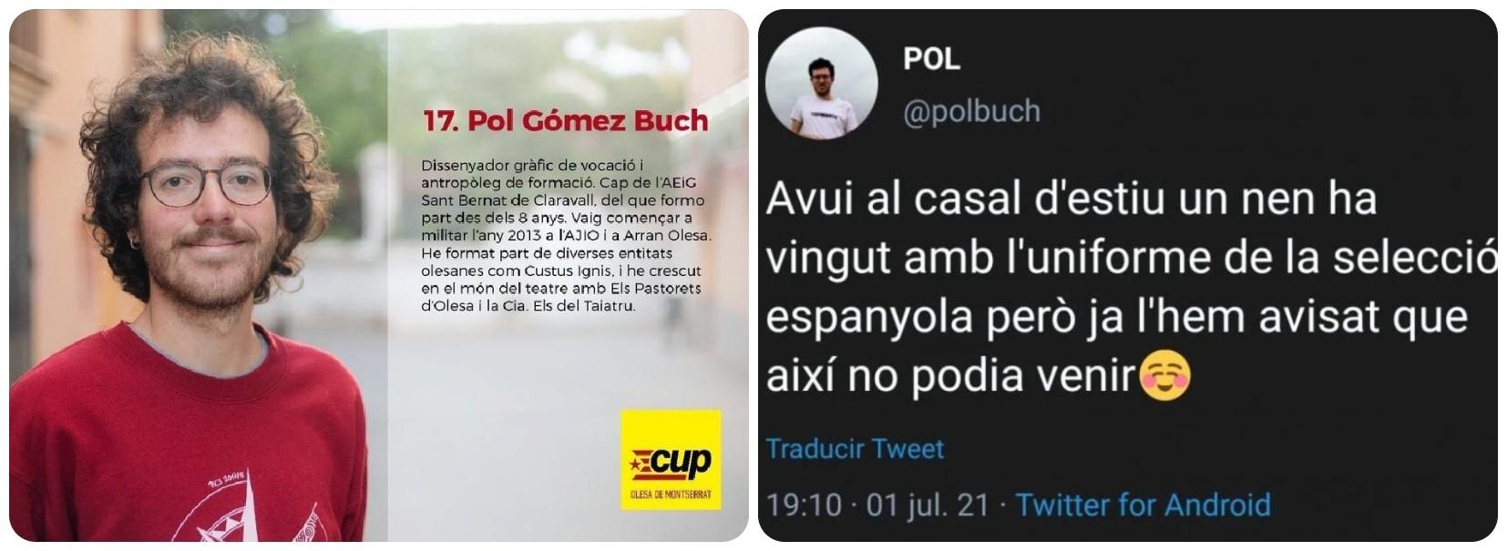 El monitor de un campamento en Cataluña obliga a un niño a quitarse la camiseta de la Selección Española