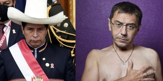 Pedro Castillo, el enemigo de España, homófobo y racista al que aplaude Monedero