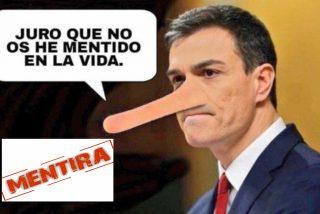 Pedro Sánchez, la máquina de mentir, también mintió sobre la crisis de Gobierno