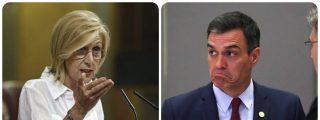 El zasca olímpico de Rosa Díez a Pedro Sánchez recordándole las verdaderas tres 'medallas de oro' de su gestión
